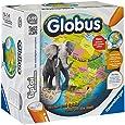 Ravensburger 00558 - Tiptoi - Interaktiver Globus ohne Stift (2 Halbschalen zum Montieren)