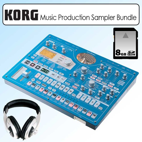 Korg EMX1SD Electribe Music Production Station Bundle
