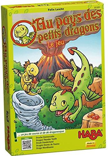 Au pays des petits dragons : Un jeu de course et de dés dragonesque