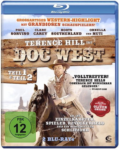 Doc West - Teil 1 & Teil 2 (Doc West - Nobody ist zurück / Doc West - Nobody schlägt zurück) [Blu-ray] [2 Blu-rays]