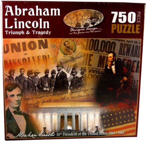 American History Abraham Lincoln Triumph and Tragedy Jigsaw Puzzle (750-Piece) - 1