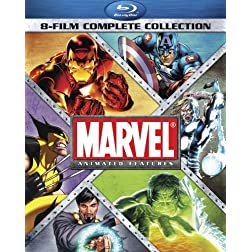Marvel Animated Features 8-Film Complete Collection Blu-ray