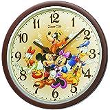 SEIKO CLOCK(セイコークロック)Disney (ディズニータイム) 掛け時計ミッキー&フレンズ ミッキーマウス ミニーマウス  FW569B
