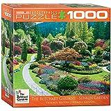 Eurographics Butchart Gardens Sunken Garden Jigsaw Puzzle (1000-Piece)