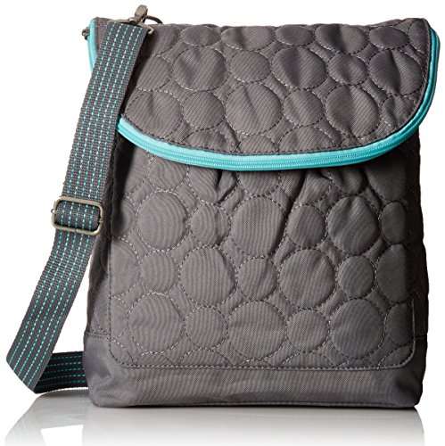 Thirty One Vary You Backpack Purse - Grey Quilted Dots (Quilted Backpack Purse compare prices)
