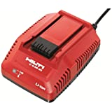 Hilti 2015764 C 4/36-90 Battery Charger (Color: Red, Tamaño: 4.5 x 4.4 x 1.9)