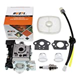 Carburetor for ECHO GT225 GT225i GT225L PAS225 PE225 PPF225 SHC225 SRM225 SRM225U Trimmer with Repower Maintenance Kit Spark Plug by HUZTL