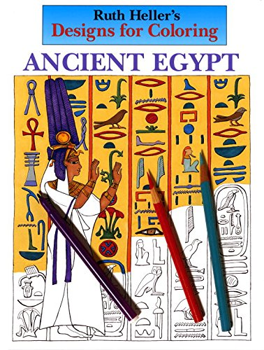 Designs for Coloring: Ancient Egypt