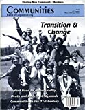 img - for Communities Magazine #105 (Winter 1999) - Transition and Change book / textbook / text book
