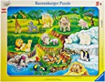 Ravensburger 06052 - Zoobesuch Rahmen...