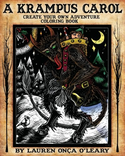 A-Krampus-Carol-Create-Your-Own-Adventure-Coloring-Book