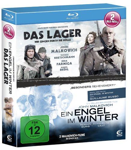 John Malkovich - Die Box - Boxset mit 2 John Malkovich Hits (Das Lager, Ein Engel im Winter) [2 Blu-rays]