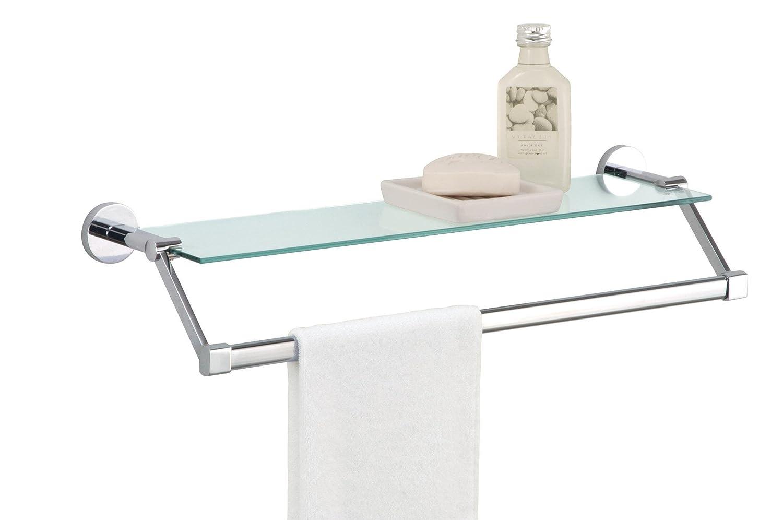 Glass Bathroom Shelf Bathroom Shelves