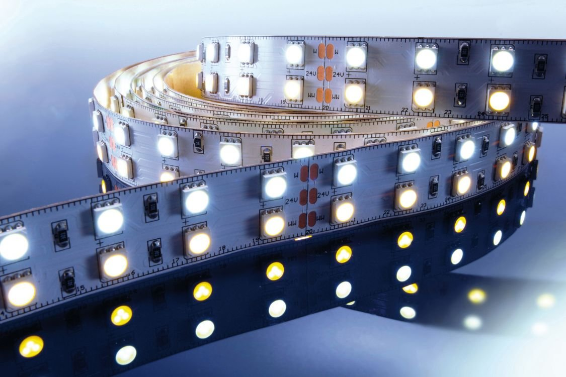 KapegoLED Flexibler LED Stripe, 5050, SMD, RGB und, 24 V DC, 86,40 W, warmweiß 840067