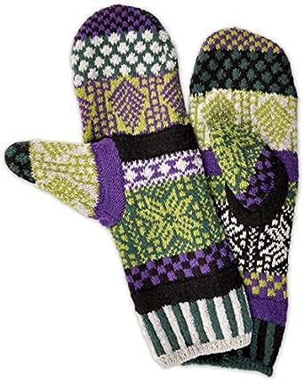 Solmate Socks - Mismatched Fleece Lined Mittens/Gloves for