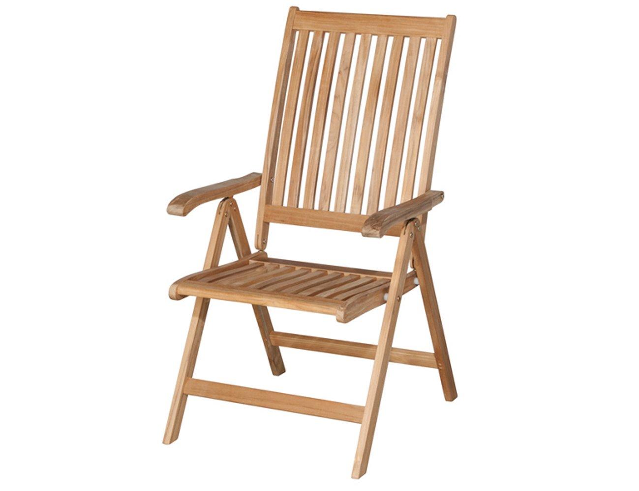 siena garden 672852 klappsessel newport teakholz fsc 100 beschl ge aus galvanisiertem stahl. Black Bedroom Furniture Sets. Home Design Ideas