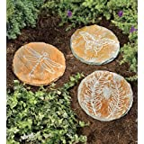 Etched Slate Garden Stepping Stones in Butte