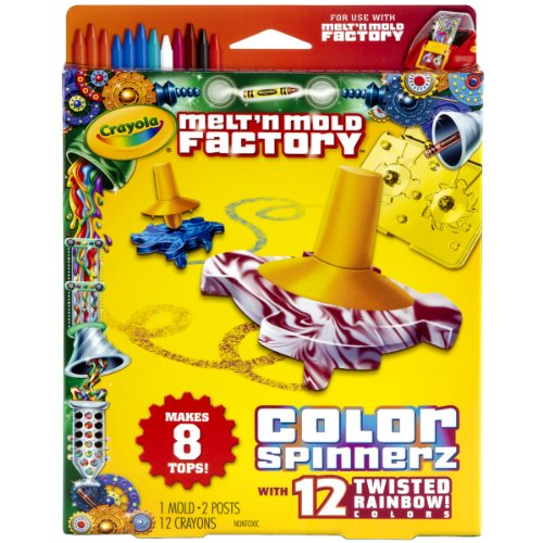Crayola Melt 'N Mold Color Spinnerz Expansion Pack (Marker Maker From Crayola compare prices)