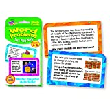 Trend Enterprises Word Problems Test Prep Math Grades 4-6 Challenge Cards チャレンジカード 算数クイズ(4-6年生レベル)