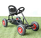 Kart a pedales Telica de Longkart (asiento y volante regulables, ruedas todoterreno)
