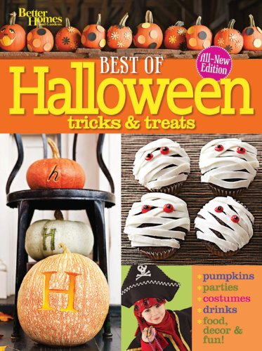 Best of Halloween Tricks & Treats, Second Edition (Better Homes & Gardens Crafts) by Better Homes and Gardens
