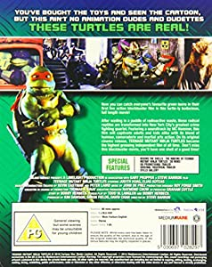 Teenage Mutant Ninja Turtles - The Original Movie: Limited Edition Steelbook [Blu-ray] [1990]