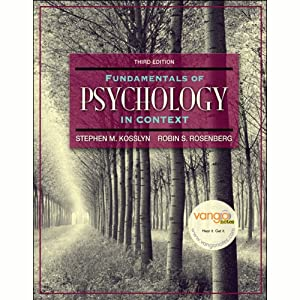 VangoNotes for Fundamentals of Psychology in Context, 3/e | [Stephen Kosslyn, Robin Rosenberg]