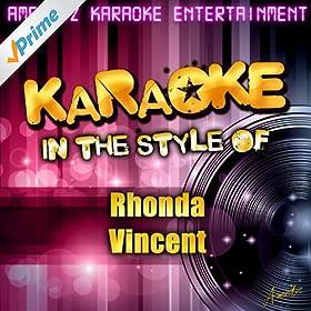 Karaoke (In the Style of Rhonda Vincent)