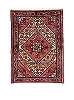 L'Eden del Tappeto Alfombra Hamadan Rojo / Multicolor 144  x  104 cm