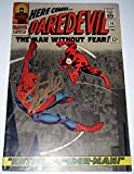 STAN LEE Gold Ink Signed Rare Daredevil #16 (May, 1966) Comic Book Magazine with the Amazing Spider-Man on Cover Auto Marvel Comics Co-creator