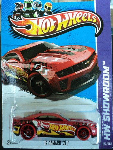 Hot Wheels 2013-192 HW Showroom '12 Camaro ZL1 RED 1:64 Scale - 1