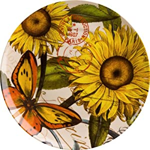 Amazon.com: Waechtersbach Accents Nature Plates, Sunflower, Set of