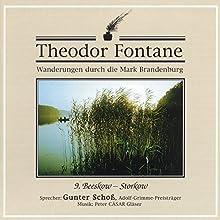 Beeskow-Storkow (Wanderungen durch die Mark Brandenburg 9) Hörbuch von Theodor Fontane Gesprochen von: Gunter Schoß