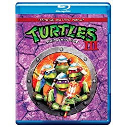Teenage Mutant Ninja Turtles III: Turtles in Time [Blu-ray]