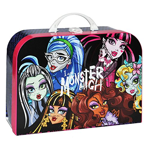 kinderkoffer monster high gro puppenkoffer koffer. Black Bedroom Furniture Sets. Home Design Ideas