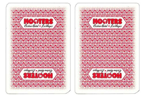 Hooters Authentic Casino Playing Cards - 1 Deck - 1