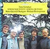 Mstislav Rostropovich Schubert: Streichquintett / String Quintet C-dur D. 956 (op. Posth. 163) [Vinyl LP] [Schallplatte]