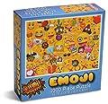 Emoji Universe: 1000-Piece Emoji Jigsaw Puzzle, Emoji Splash by Kangaroo Manufacturing