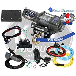 KFI Products A3000 ATV Winch Kit - 3000 lbs Capacity from KFI Products