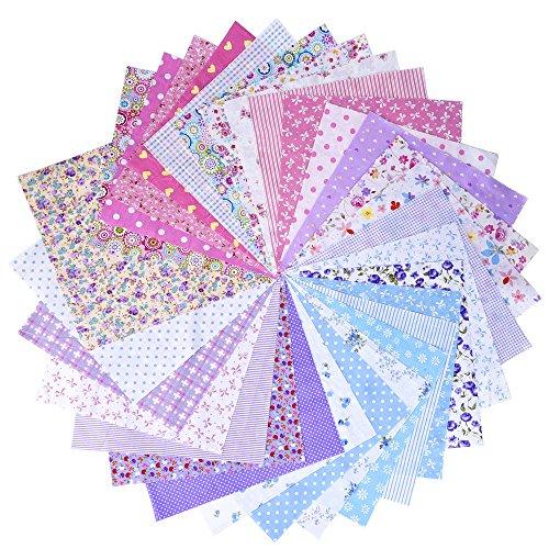 mudder-tela-de-algodon-para-patchwork-atada-de-cuadrados-mixtos-adorables-pequenos-25-por-25-cm-30-p