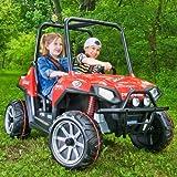 Kids Power Ride On Polaris Ranger RZR 24 Volt Ride on Wheels ATV Off Road Go Kart Cart Toy