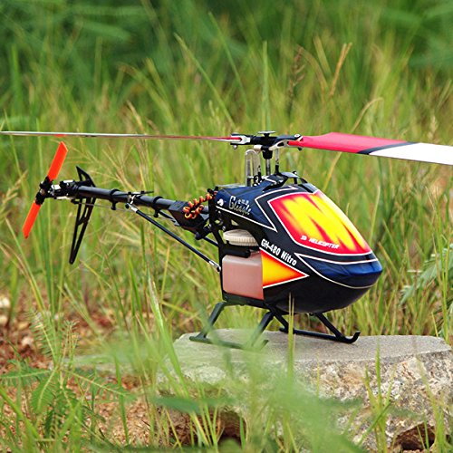 New Global Eagle 480N DFC Fuel Oil Nitro RC Helicopter Frame Kit By KTOY (Helicopter Fuel compare prices)