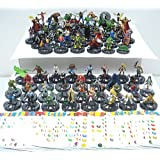 75 Heroclix Assorted Figures