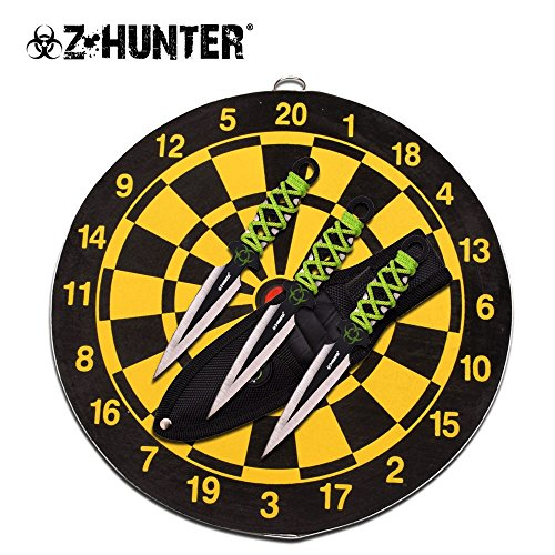 Z-Hunter Knives 155SET - Three Piece Throwing Knife Set - Throwing Knives