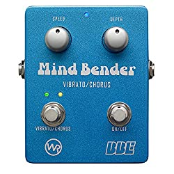 BBE Mind Bender Vibrato/Chorus Guitar Effects Pedal by BBE