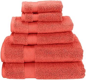 6-Piece Super Soft and Absorbent Towel Set