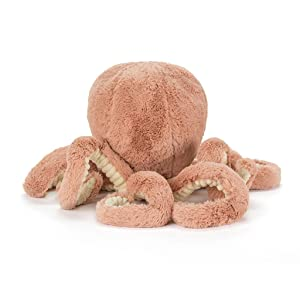 Jellycat Odell Octopus Stuffed Animal, Large, 22 inches (Tamaño: Large - 22)