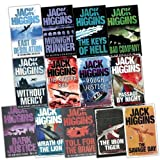 Jack Higgins 13 Books Collection Pack Set (THE IRON TIGER, Dark Justice, Toll for the Brave, Wrath of the Lion, The Savage Day, Rough Justice, The Khufra Run, Passage By Night, Bad Company, East of Desolation, Midnight Runner, The Keys of Hell, Without Mercy)by Jack Higgins