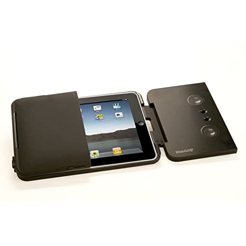 iMainGo XP Portable Speaker and Protective Case For iPad and iPad 2 - Black