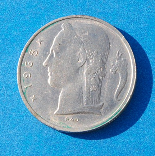 Belgium 5 Francs 1965 Coin #1 - 1